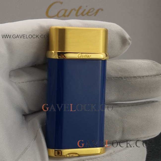2019 Copy Cartier Two Tone Lighter from Gavelock