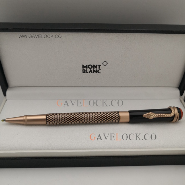 AAA Replica Rose Gold Montblanc Heritage Collection Pen