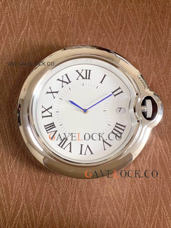 Ballon Bleu De Cartier Copy Wall Clock Stainless Steel
