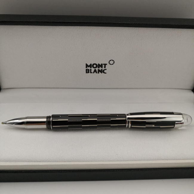 Best Copy Mont Blanc Skywalker Pen Mysterious Black Rollerball Pen