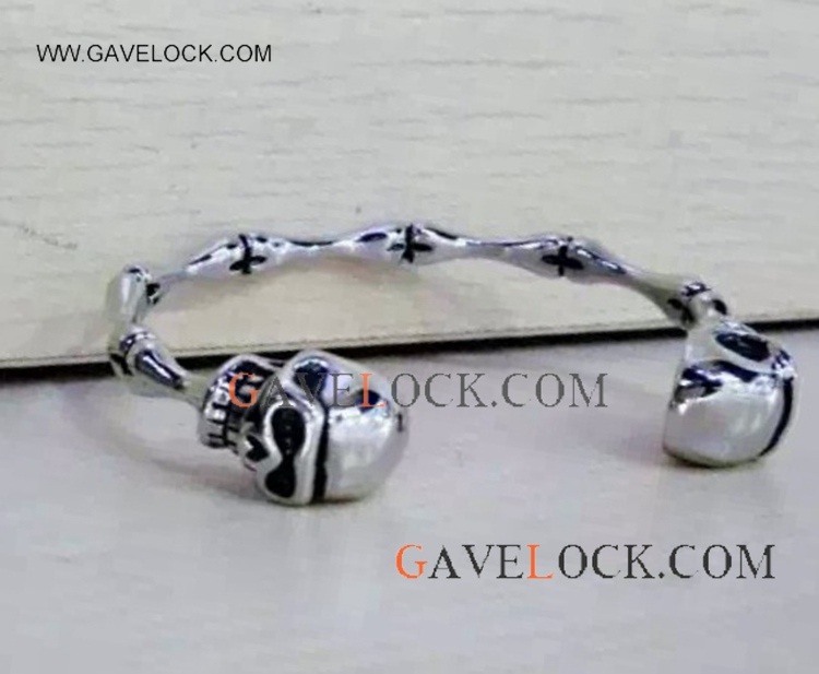 Cool Skull Stainless Steel Punk Bangle