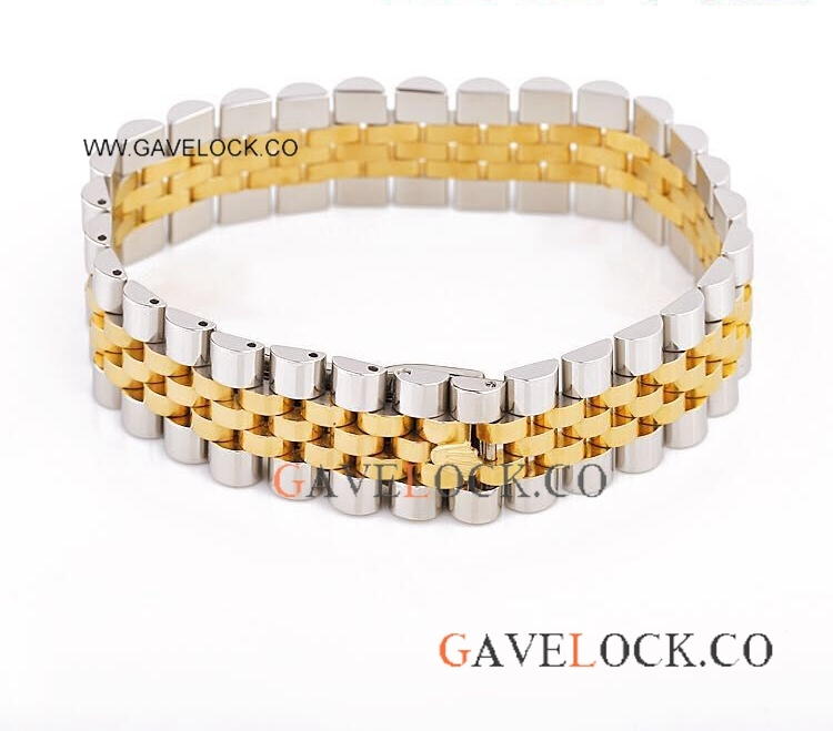 Wholesale Replica Steel&Gold Jubilee Bracelet - AAA Quality