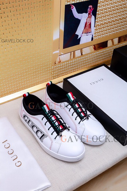 G/u/c/c/i/ Leather Replica Shoes For Men