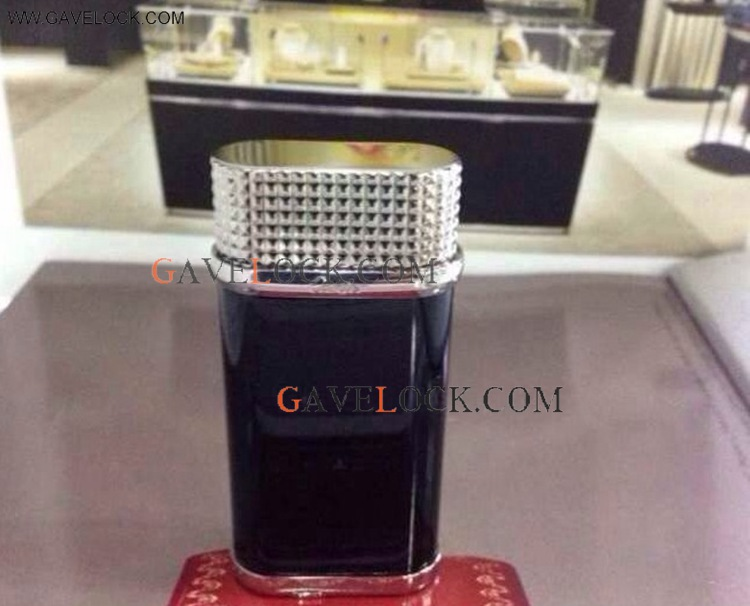 High Imitation Cartier Lighters Black/Silver Lighter AAA+ Father's Day Gift