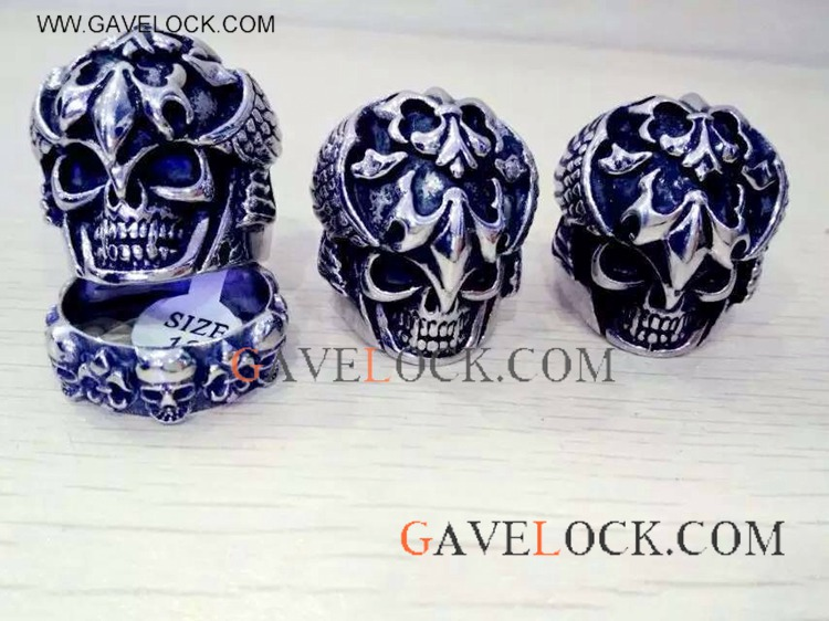 Hip Hop Skull Shape Ring