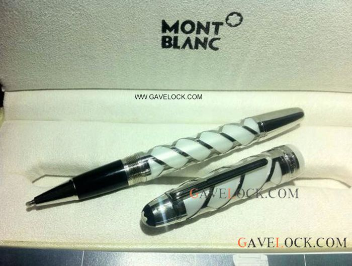 Mont Blanc Meisterstuck White Rollerball Pen / Special Replica