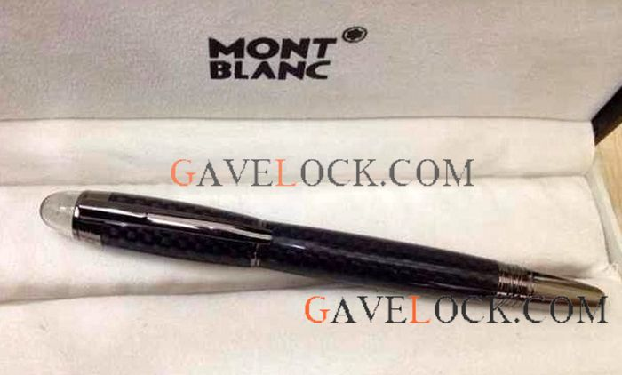Montblanc Starwalker Ultimate Carbon Fiber Rollerball Pen Free Shipping