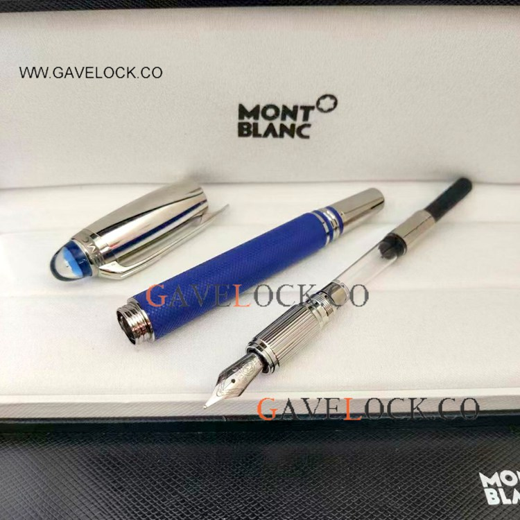 NEW 2021! AAA Montblanc Starwalker Fountain WAVE BARREL