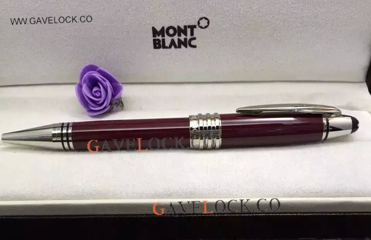 Montblanc JFK Ballpoint Pen AAA Quality Red Resin