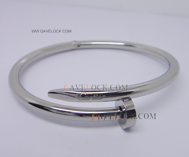 AAA Replica Cartier Jewelry Juste Un Clou Sliver Bracelet - Silver Nail