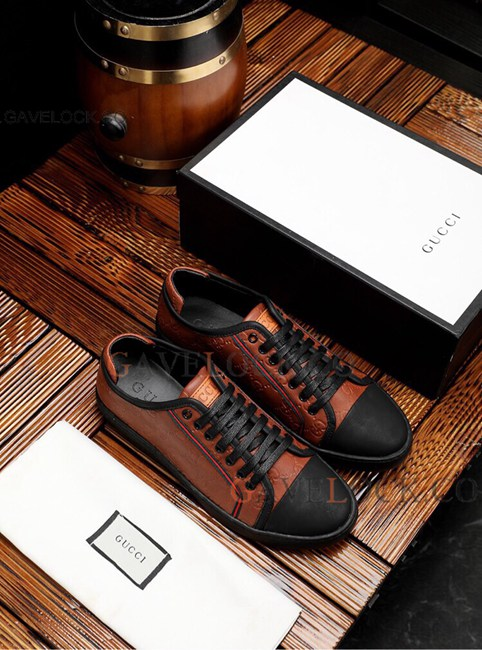 High Quality G/u/c/c/i/ Leather Shoes For Men