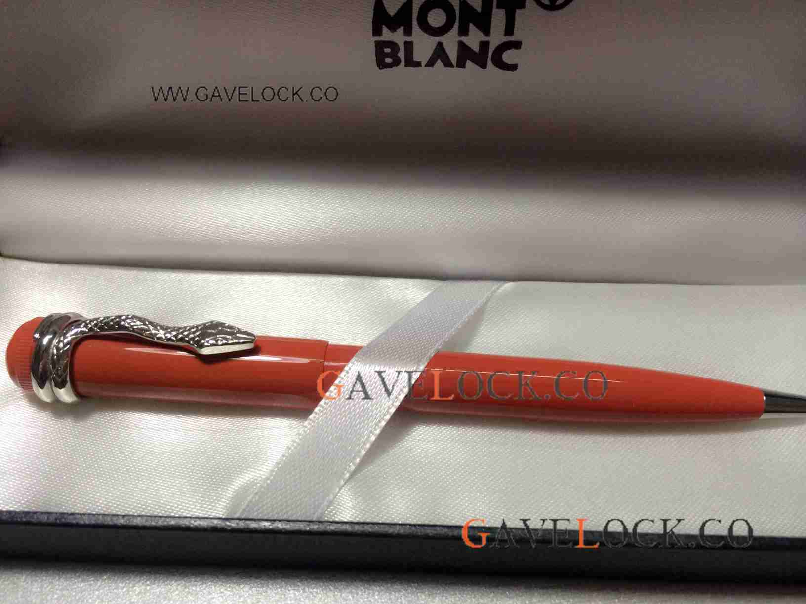 AAA Replica Montblanc Pen Heritage Collection Rouge Et Noir Red Ballpoint Pen