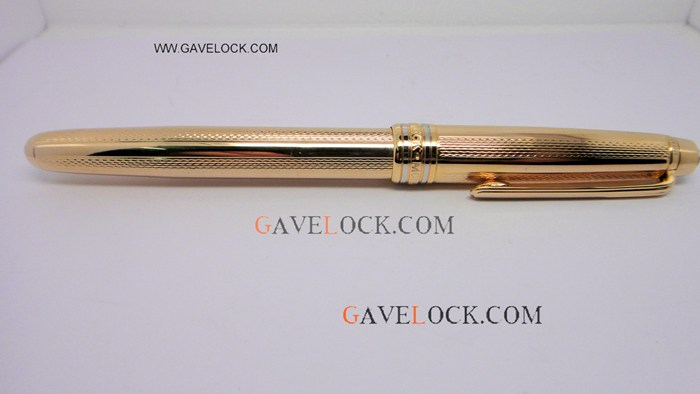 Replica AAA Gold Montblanc Meisterstuck Fineliner Pen Free Shipping - AAA Fake Mont blanc Pen