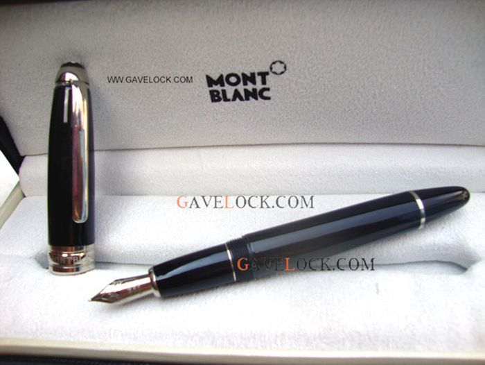 Montblanc Meisterstuck 149 Fountain Pen Black&Silver XL Size Replica Pens