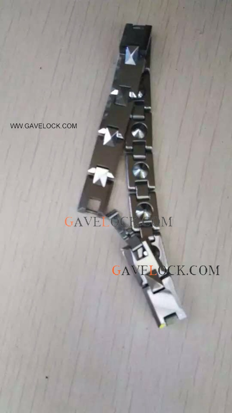 Western Style Stainless Steel Punk Bracelet For Man